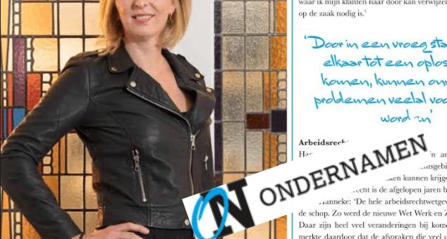 Leuk artikel over Mauritz Advocatuur in OnderNamen Woerden